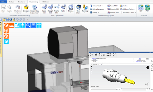 WinTool has the latest Edgecam integration - whether milling or turning.